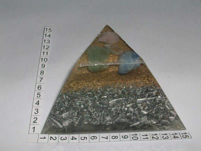 Orgonito Pirámide Tetraédrica Truncada