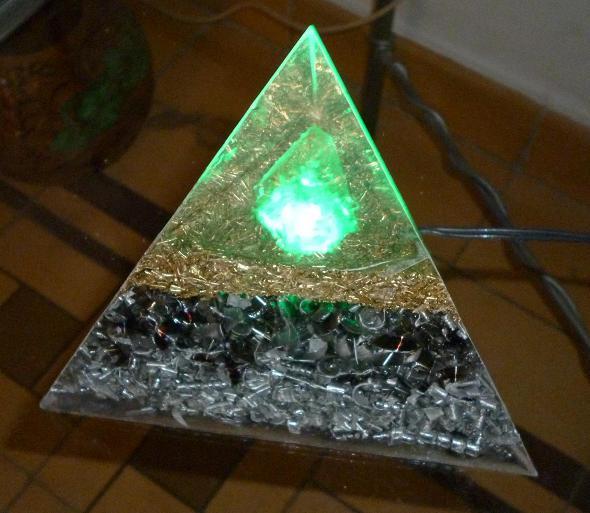 Orgon con luz orgonitos - Comprar tarros de cristal pequenos ...