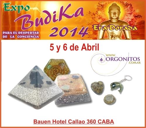 Orgonitos en Expo Budika