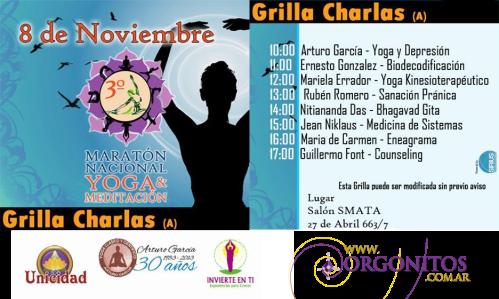 Orgonitos Maratón Nacional de Yoga y Meditación