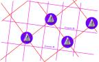 ¿Qué efecto tienen las Orgonitas en los cruces de redes de Hartmann?